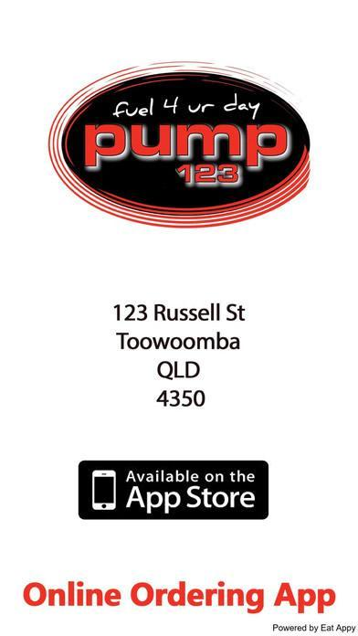 Get the App From App store - Pump 123 Russell St