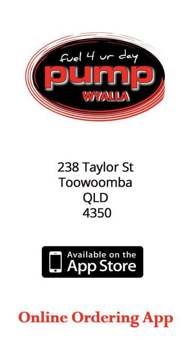 Get the App From App store - Pump Wyalla Plaza