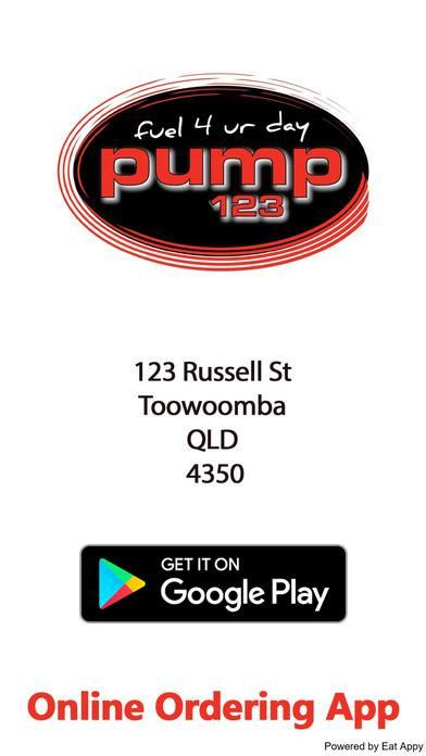 Get the App From Google Play - Pump 123 Russell St